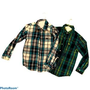 Boys 2x Old navy Long sleeve shirts Medium size